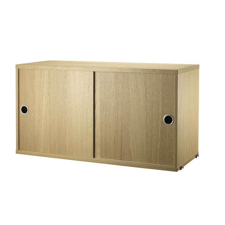 String - Cabinet / Sliding Doors - oak wood