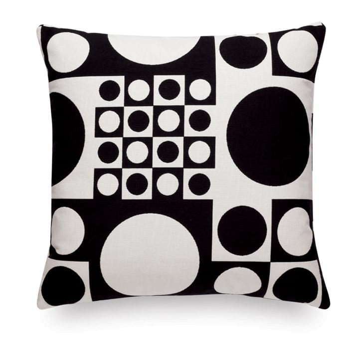 Vitra - Cushion Maharam: Geometri black/white