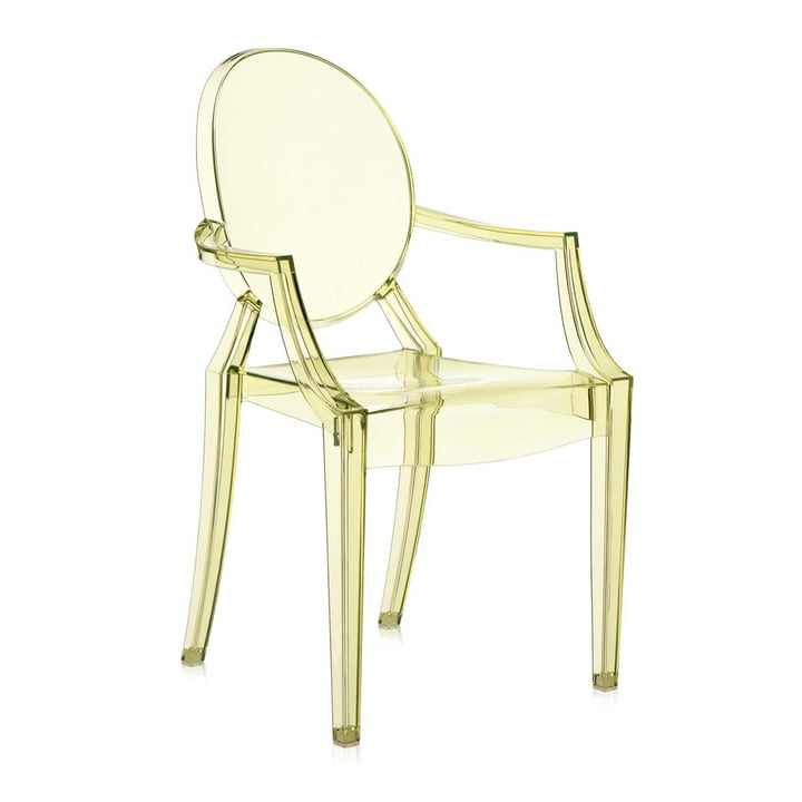 Kartell - Louis Ghost - yellow