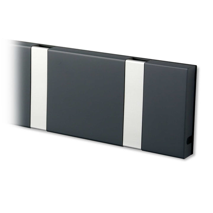 Knax coat rack from LoCa in anthracite / grey