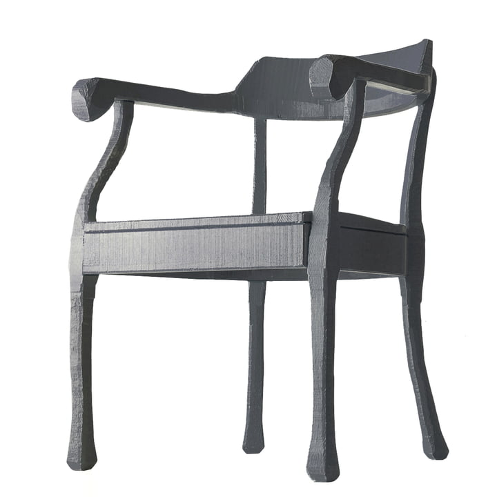 Muuto - Raw Lounge Chair, grey