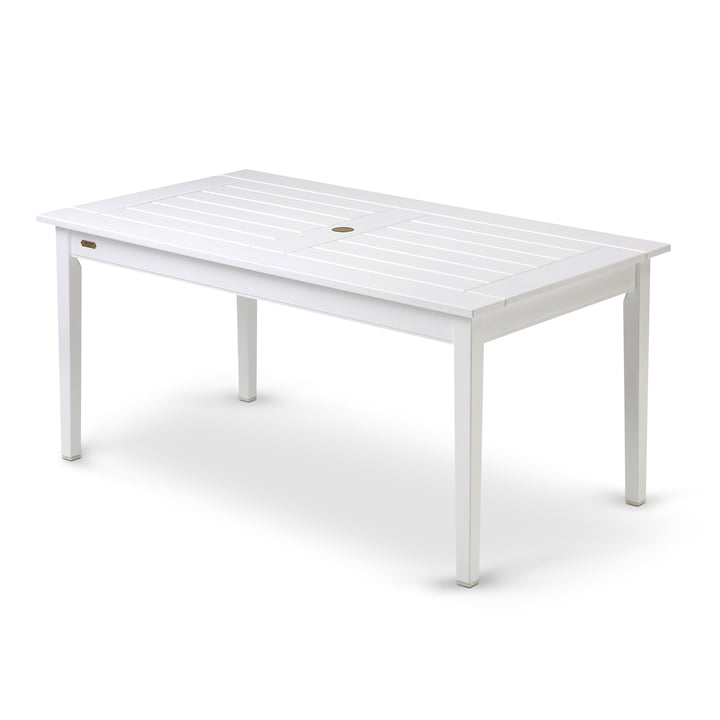 Skagerak - Drachmann table, rectangular, 156 cm, white