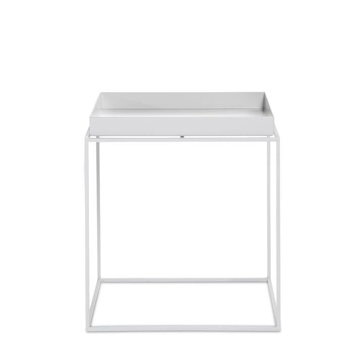 Tray Table 40 x 40 cm from Hay in white