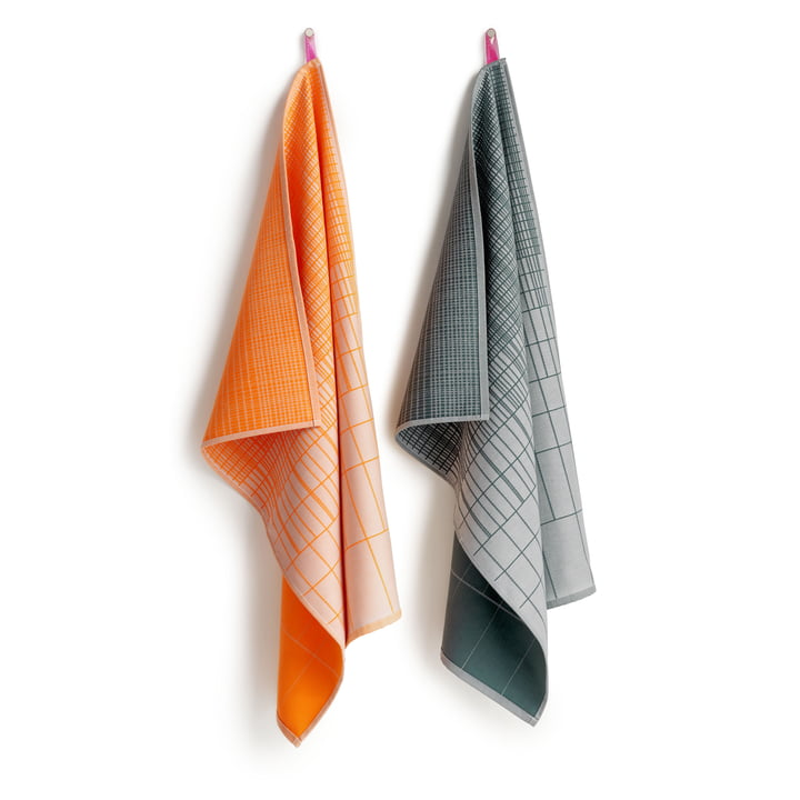 Hay - S&B dish towels, Cold Forest