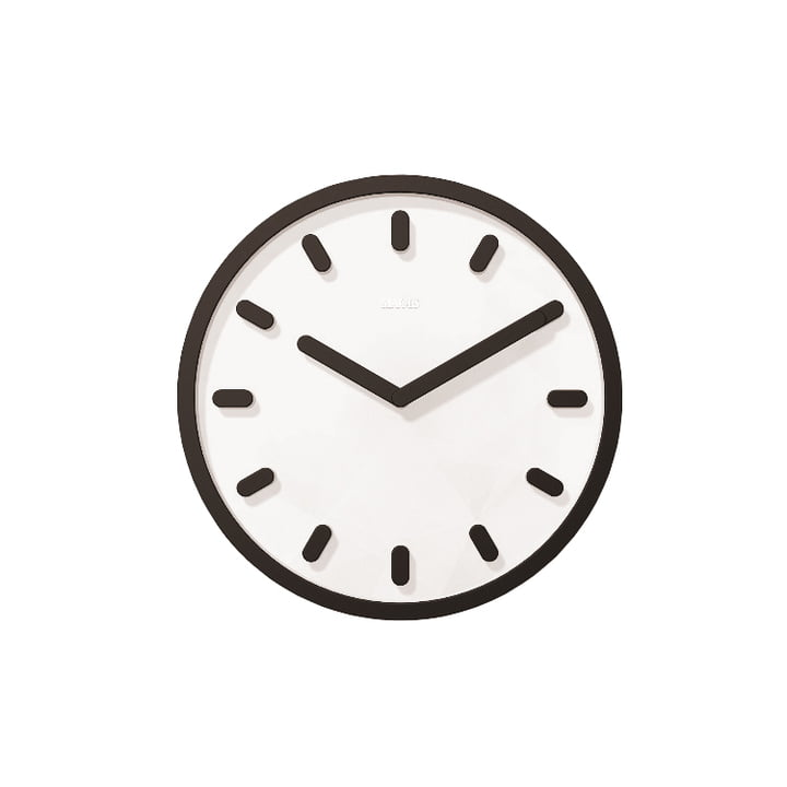 Tempo wall clock by Magis in black