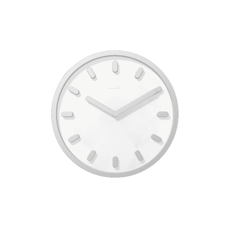 Tempo wall clock by Magis in grey