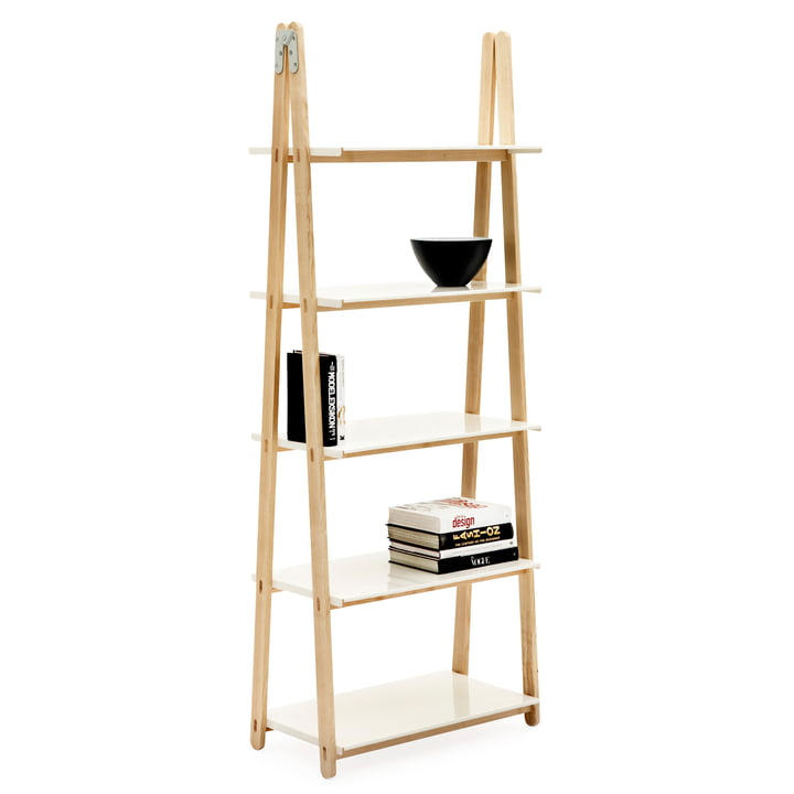Norman Copenhagen - One Step Up shelf (high) in white