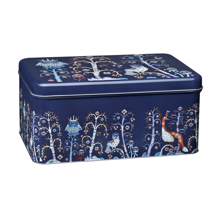 Iittala - Taika metal jar, blue