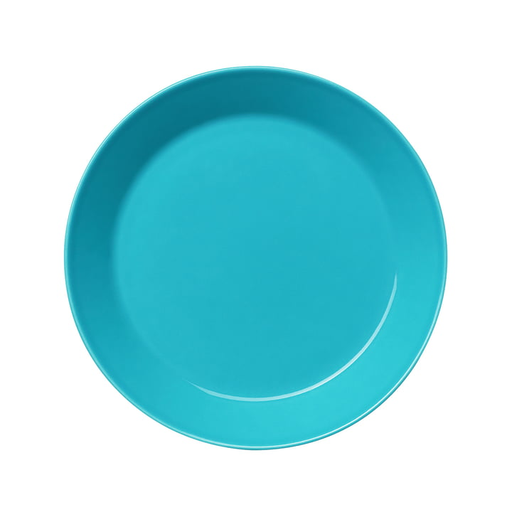Iittala - Teema Plate flat, 21 cm, turquoise