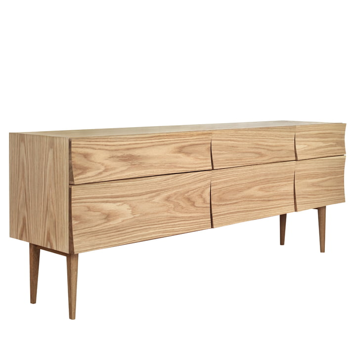 Reflect sideboard in large by Muuto in oak wood