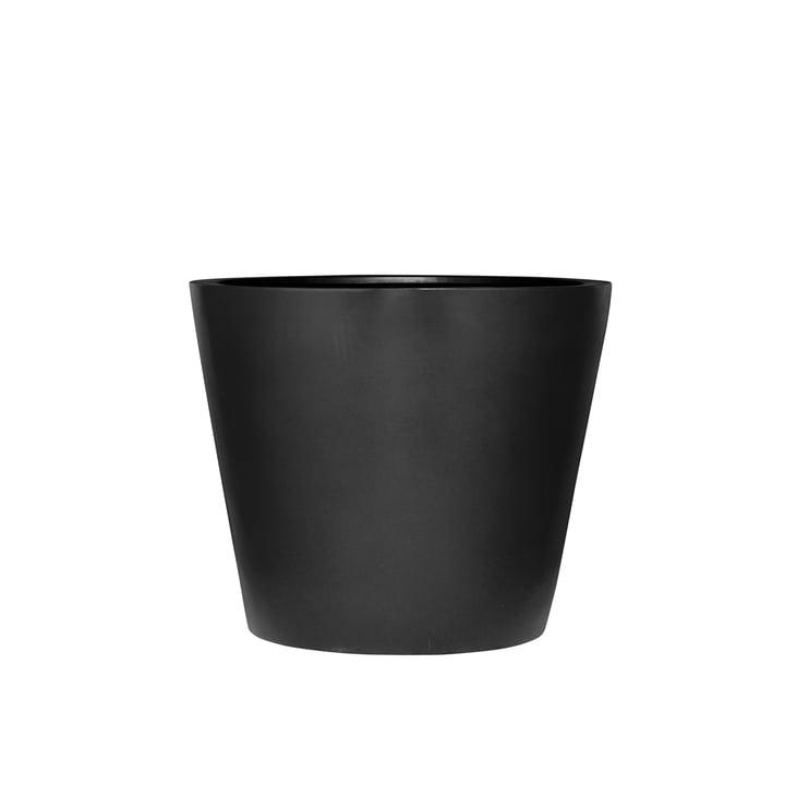 amei - The Round One Planter, XS, black