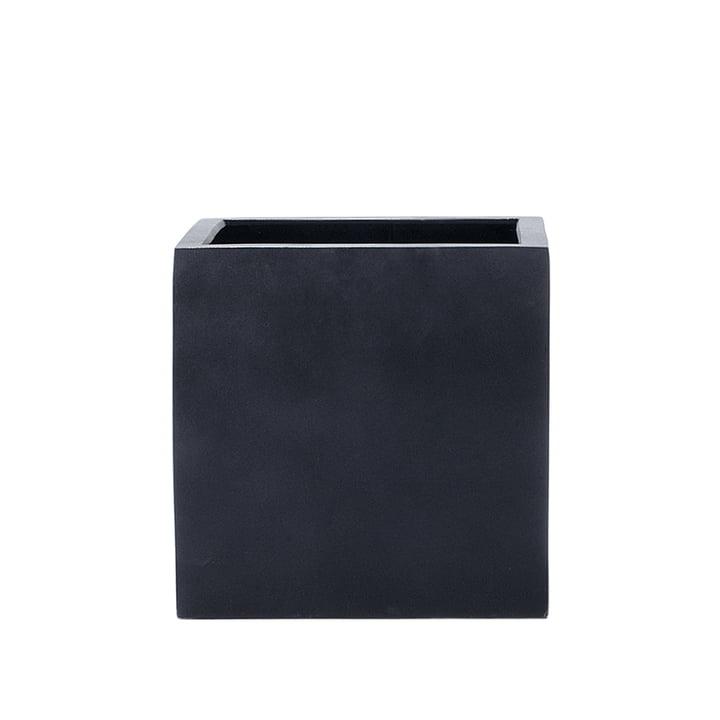amei - The Cube Planter, M, black