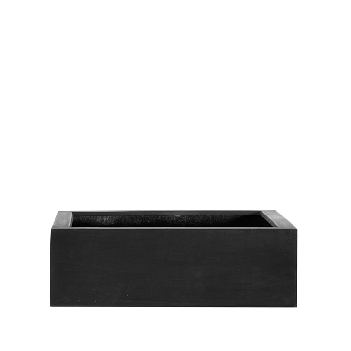 amei - The Quadratic One Planter, M, black