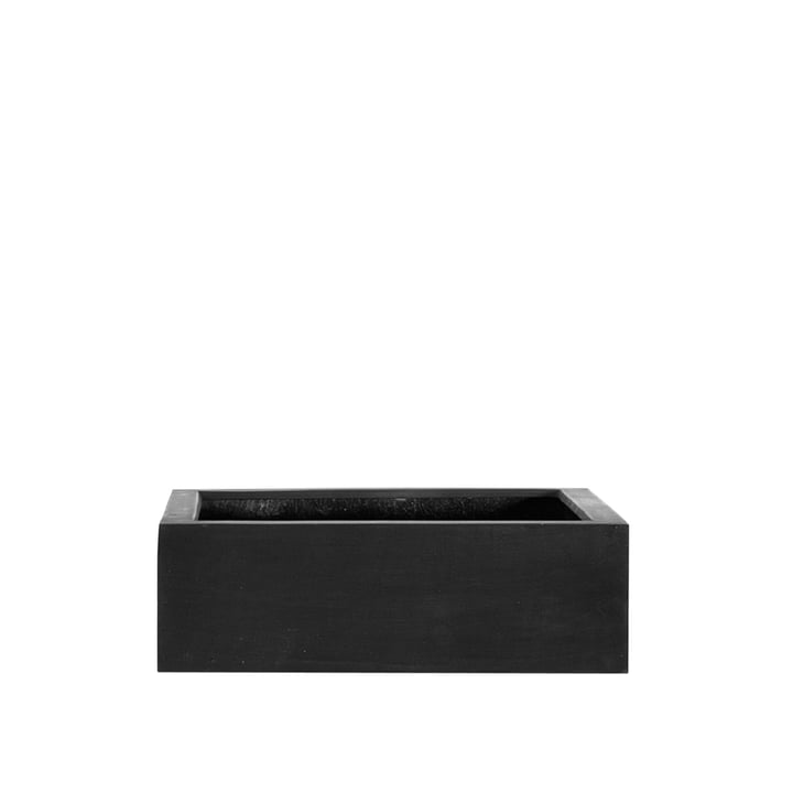 amei - The Quadratic One Planter, S, black