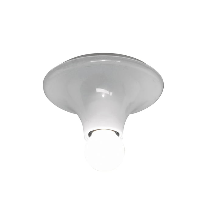 Artemide Teti wall and ceiling lamp, white