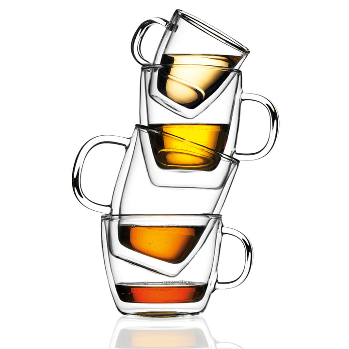 Bodum Bistro double-walled drinking glasses - group