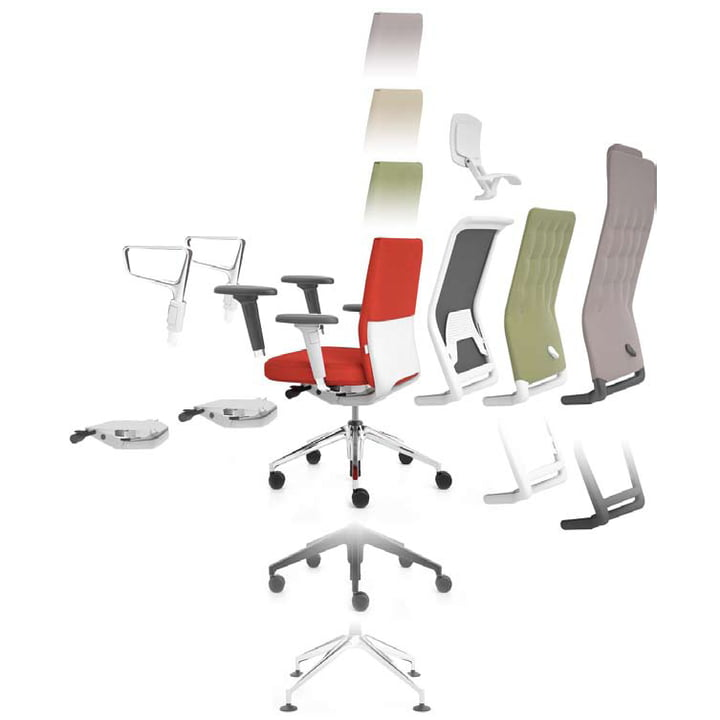 Vitra - ID-Chair- configuration / sketch