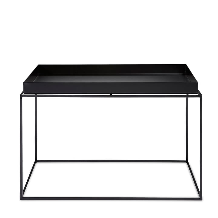 Hay - Tray Table square, 60 x 60 cm, black