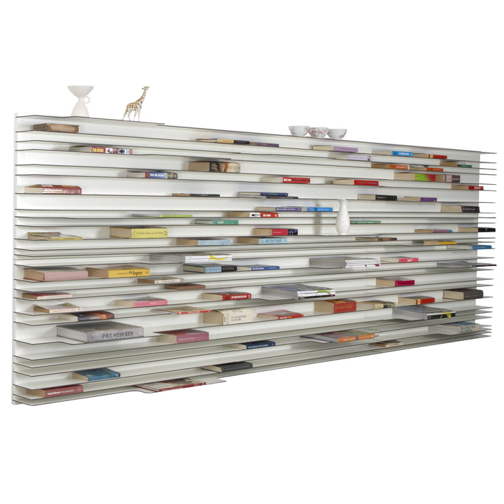 Arrange the books horizontally on 120 x 360 cm