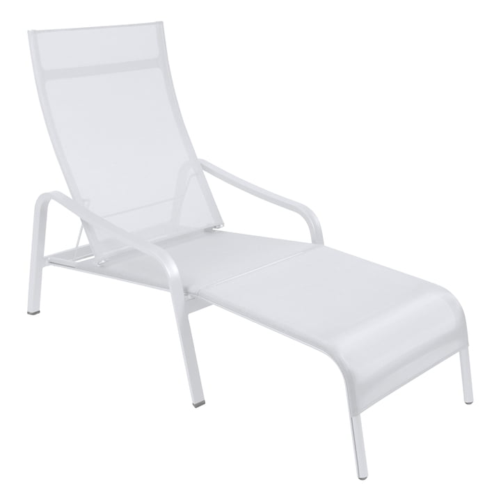 Fermob - Alizé Deck Chair, pearl white