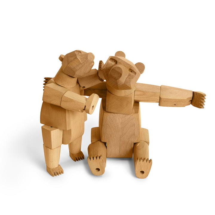 areaware Wooden Creatures - Ursa the bear