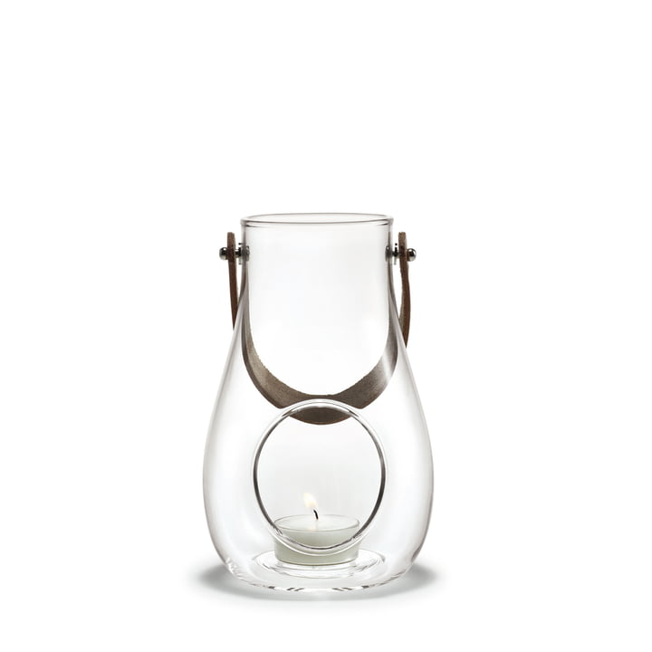 Design with light Lantern H 16 cm from Holmegaard in clear