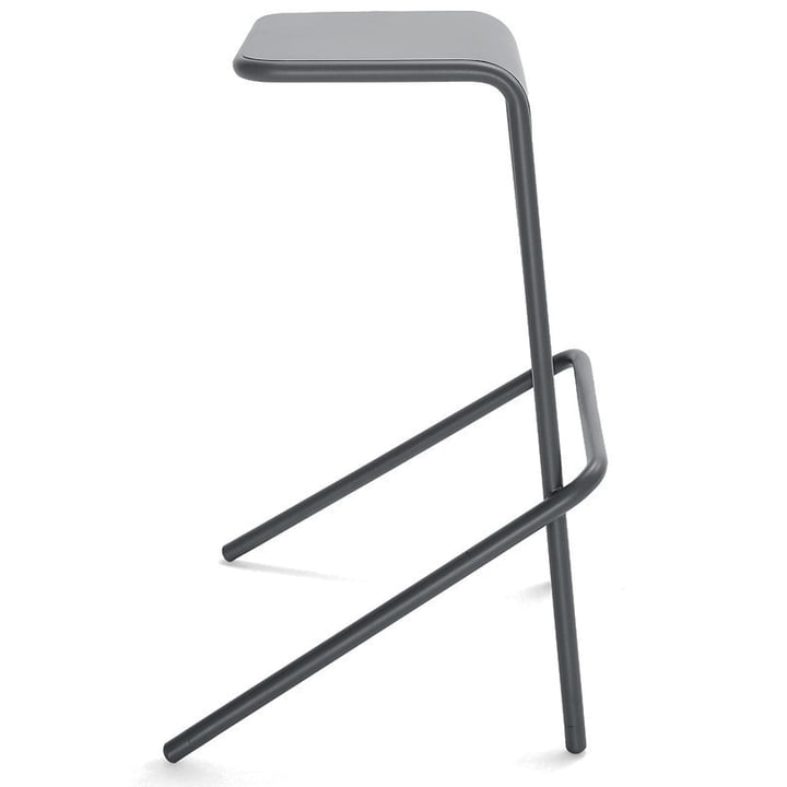 Cappellini - Alodia bar stool - anthracite, free