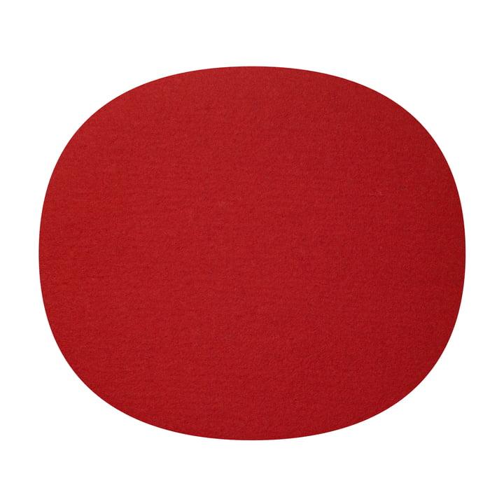Hey Sign - felt-cushion Eames Plastic Chair, red 5mm AR