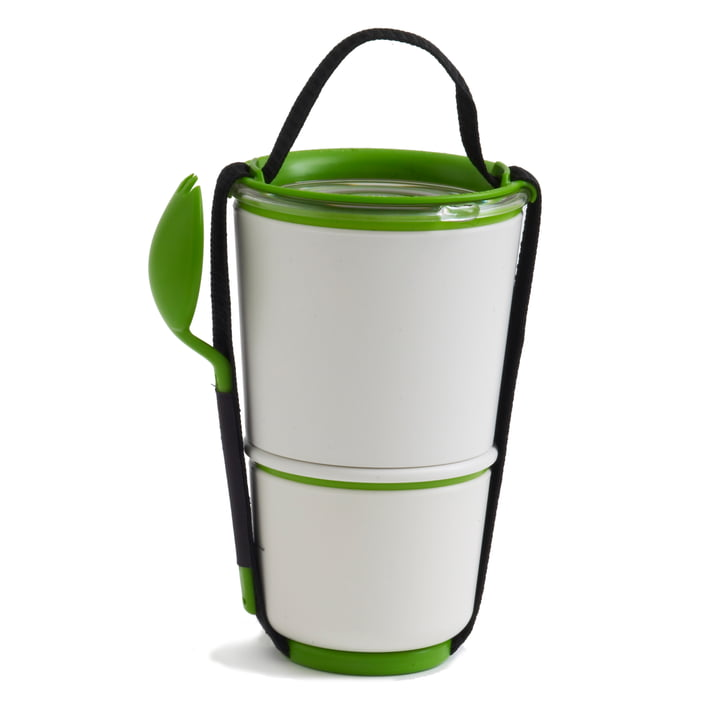 Black & Blum - Lunch Pot, lime - duo