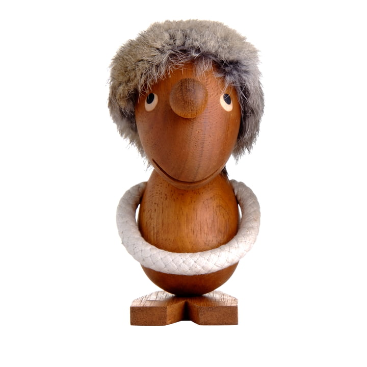 The Optimist wooden figure by ArchitectMade made of teak wood