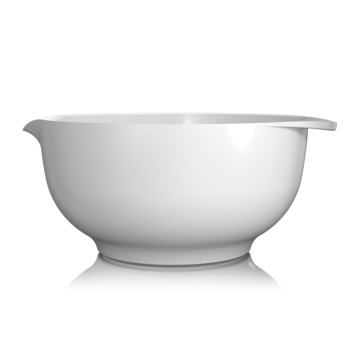 Mixing bowl Margrethe, 5.0 l from Rosti in white