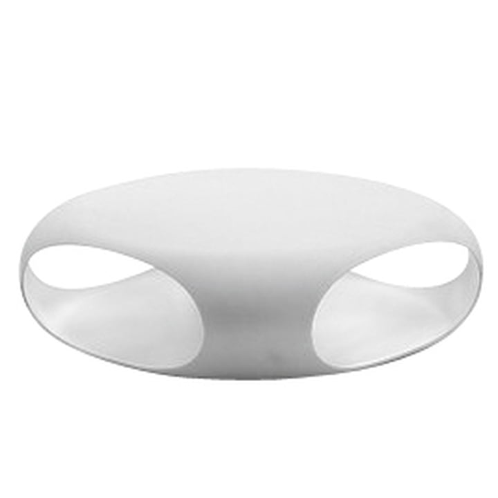 Bonaldo - Pebble coffee table, white / white