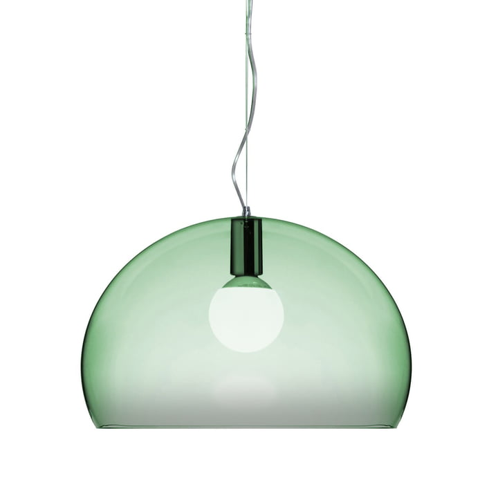 Kartell FL/Y Pendant Lamp, sage green