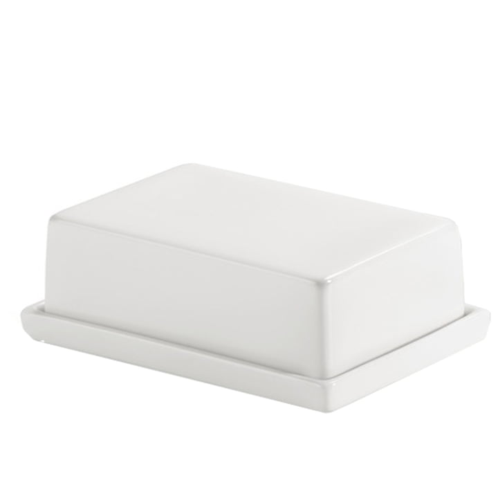 Authentics - Smart butter dish - large, white