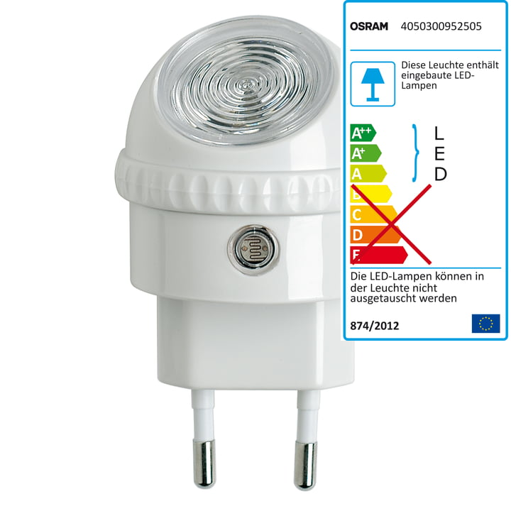 Osram Lunetta Led-Orientation Lamp, white