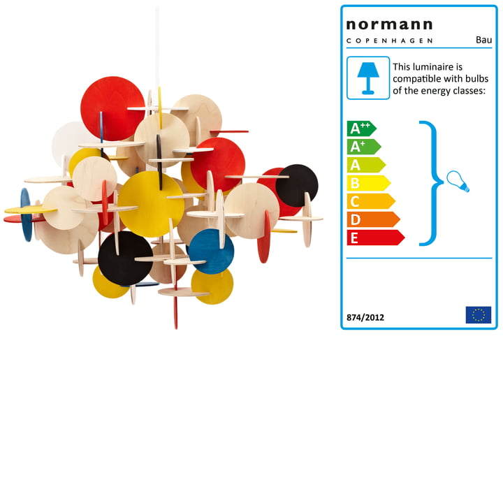 Normann Copenhagen - Bau Pendant Lamp, large