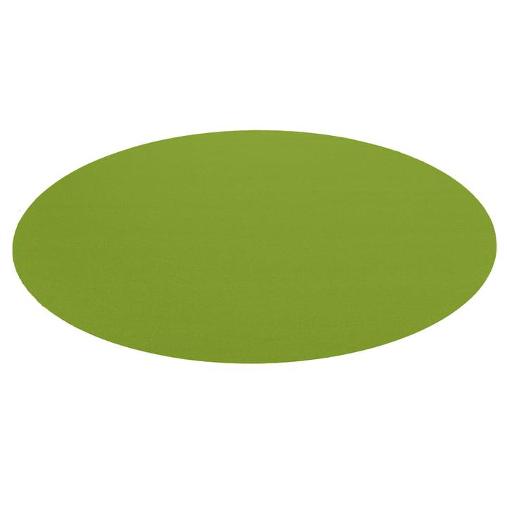 Hey Sign - Bigdot Carpet, may green