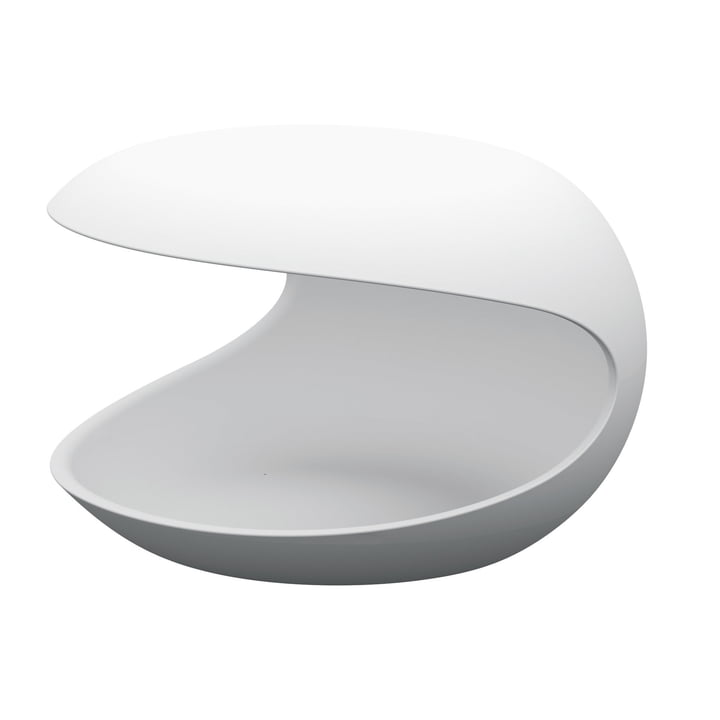Zanotta - White Shell Side Table