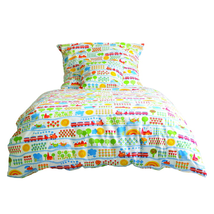 byGraziela - Train children's bed linen