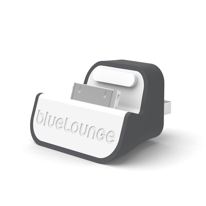 Bluelounge - Mini Dock - EU edition, white