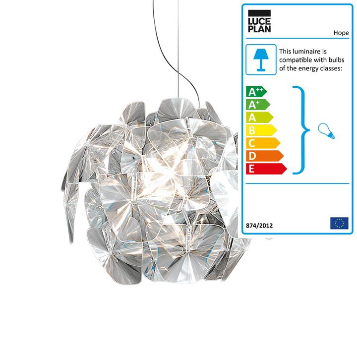 Luceplan - Hope Pendant Lamp D66/18