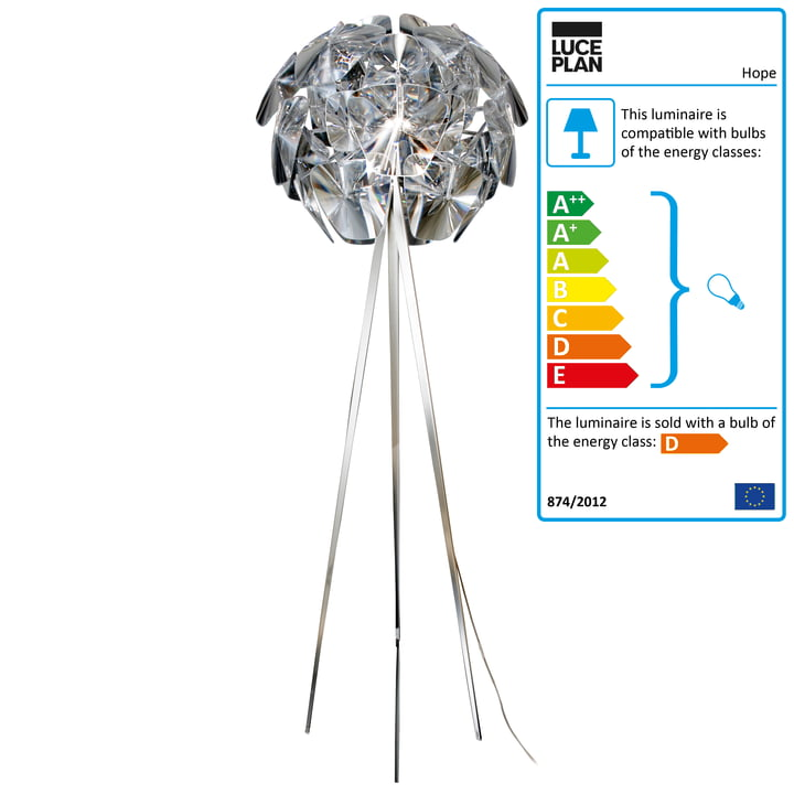 Luceplan - Hope Floor Lamp D66 /18