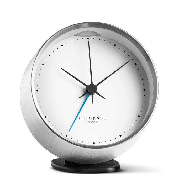 Georg Jensen - Henning Koppel alarm clock, stainless steel