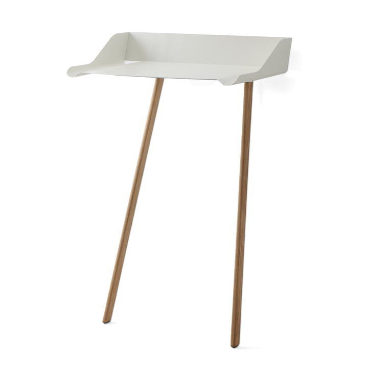 Mox - Stork Office Desk, white / natural