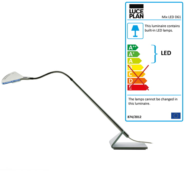 Luceplan - Mix D61 desk lamp