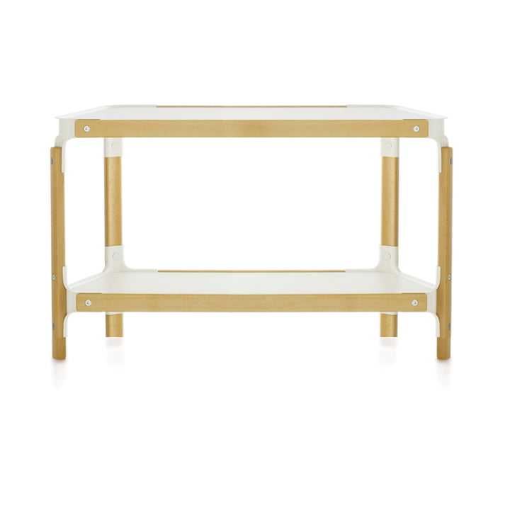 Magis - Steelwood Shelf - 2 / 1, natural beech / white