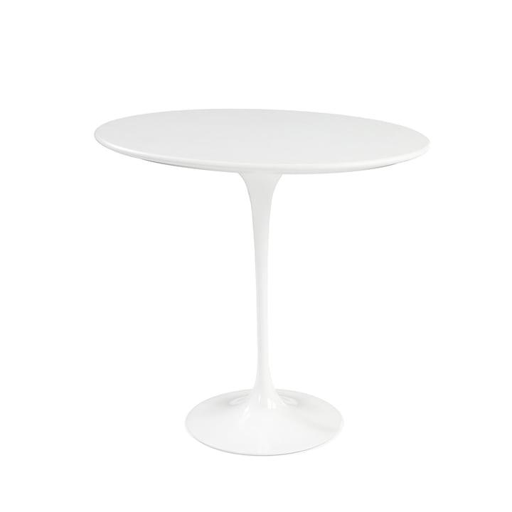 Knoll - Saarinen Tulip Side Table round - white / Laminate white