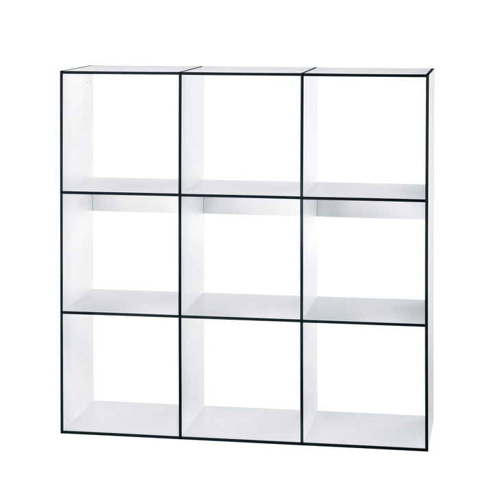 Hans Hansen - Module Shelf HP 3x3, white