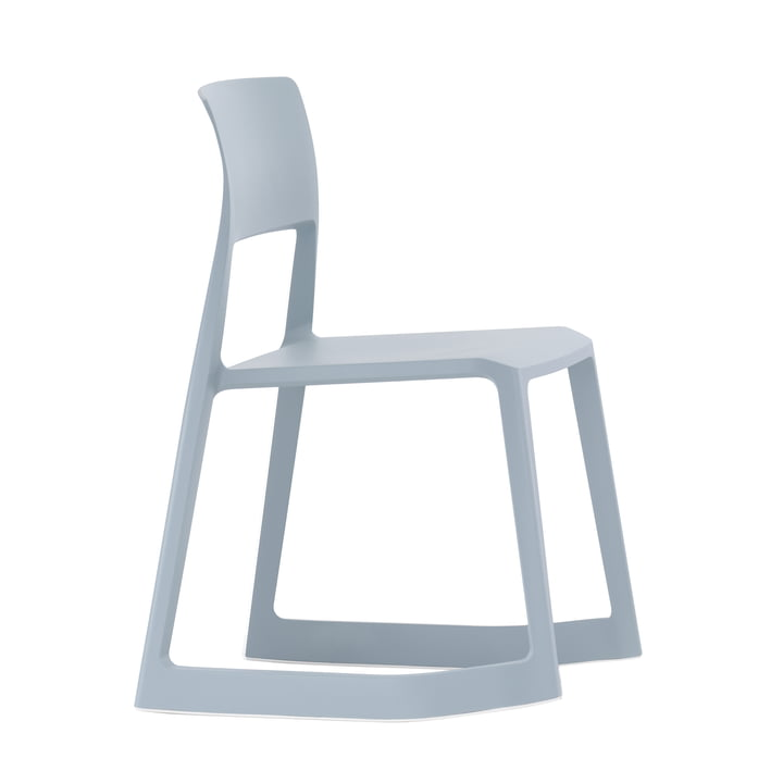 Tip clay from Vitra in ice grey
