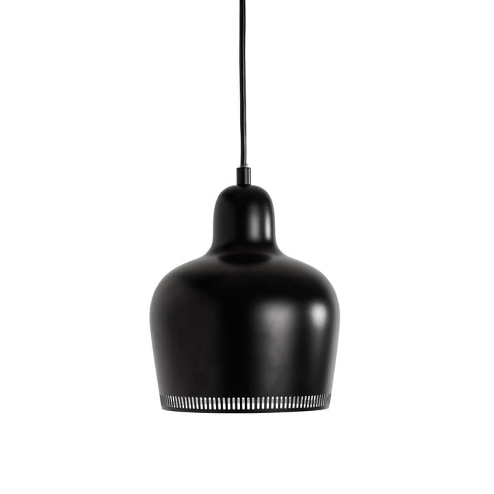 Artek - Pendant Lamp A 330S Golden Bell, black